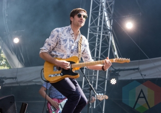 Saint Motel performing at the 2015 Budweiser Made in America Festival at Benjamin Franklin Parkway on Sept. 6, 2015 in Philadelphia, PA. (Photo: Jaime Schultz/Aesthetic Magazine)