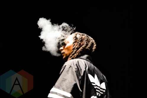 Snoop Dogg performing at Riot Fest Chicago in Chicago, IL on Sept. 13, 2015. (Photo: Peter Hinsdale)