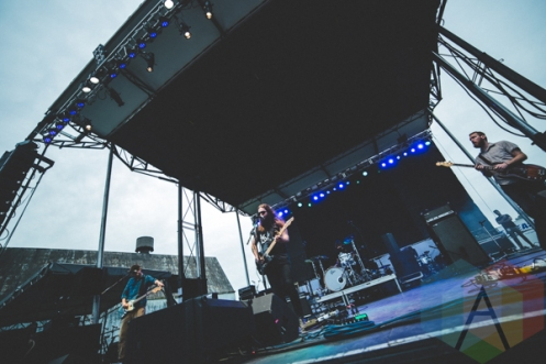 Strand of Oaks performing at Thrival Festival in Pittsburgh, PA on Sept. 25, 2015. (Photo: Emily Kovacic/Aesthetic Magazine)