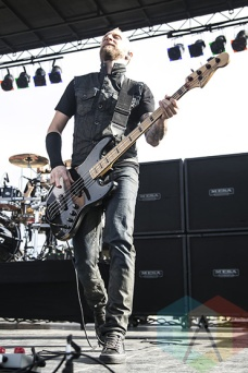 Thousand Foot Krutch performing at Chill On The Hill 2015 in Detroit, MI on Sept. 12, 2015. (Photo: Amanda Cain/Aesthetic Magazine)