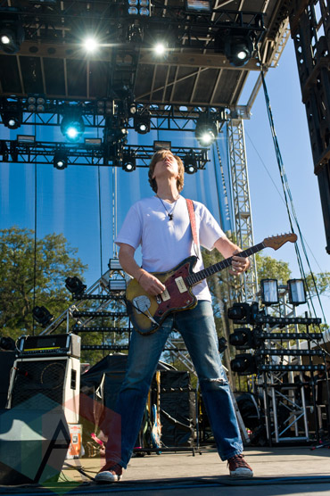 Thurston Moore performing at Riot Fest Chicago in Chicago, IL on Sept. 12, 2015. (Photo: Katie Hovland)