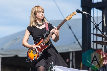 The Joy Formidable performing at Riot Fest Toronto 2015 at Downsview Park in Toronto, ON on Sept. 20, 2015. (Photo: Dale Benvenuto/Aesthetic Magazine)