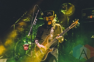 Motorhead performing at Riot Fest Toronto 2015 at Downsview Park in Toronto, ON on Sept. 19, 2015. (Photo: Rick Clifford)