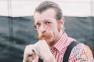 Jesse Hughes of Eagles Of Death Metal at Riot Fest Toronto 2015 at Downsview Park in Toronto, ON. (Photo: Rick Clifford)