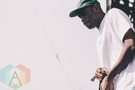 Tyler The Creator performing at Riot Fest Toronto 2015 at Downsview Park in Toronto, ON on Sept. 20, 2015. (Photo: Rick Clifford)