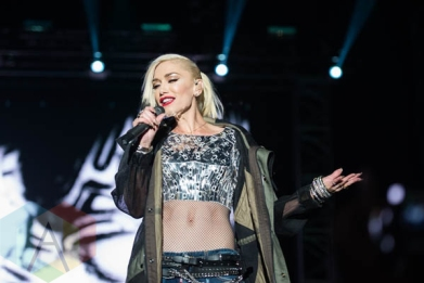 Gwen Stefani of No Doubt performing at Riot Fest Chicago in Chicago, IL on Sept. 11, 2015. (Photo: Katie Kuropas/Aesthetic Magazine)