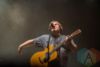 Tenacious D performing at Riot Fest Chicago in Chicago, IL on Sept. 13, 2015. (Photo: Katie Kuropas/Aesthetic Magazine)