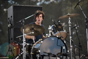 Alvvays performing at Riot Fest Chicago in Chicago, IL on Sept. 13, 2015. (Photo: Katie Kuropas/Aesthetic Magazine)
