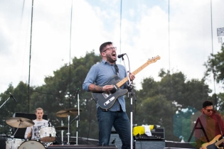 Into It. Over It. performing at Riot Fest Chicago in Chicago, IL on Sept. 11, 2015. (Photo: Katie Kuropas/Aesthetic Magazine)