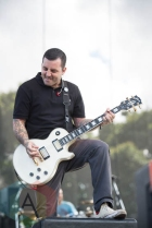Bayside performing at Riot Fest Chicago in Chicago, IL on Sept. 11, 2015. (Photo: Katie Kuropas/Aesthetic Magazine)