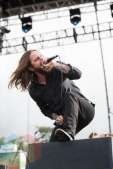 Everytime I Die performing at Riot Fest Chicago in Chicago, IL on Sept. 11, 2015. (Photo: Katie Kuropas/Aesthetic Magazine)