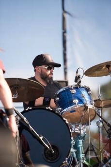 Desaparecidos performing at Riot Fest Chicago in Chicago, IL on Sept. 12, 2015. (Photo: Katie Kuropas/Aesthetic Magazine)