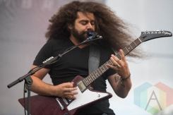 Coheed and Cambria performing at Riot Fest Chicago in Chicago, IL on Sept. 11, 2015. (Photo: Katie Kuropas/Aesthetic Magazine)