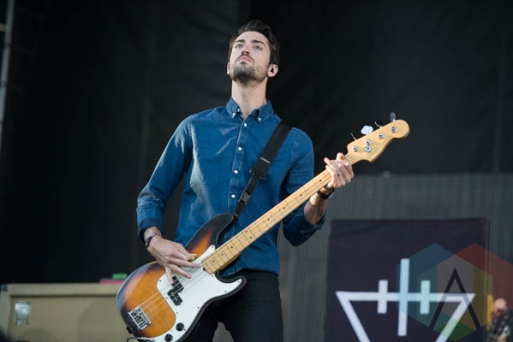 The Devil Wears Prada performing at Riot Fest Chicago in Chicago, IL on Sept. 12, 2015. (Photo: Katie Kuropas/Aesthetic Magazine)