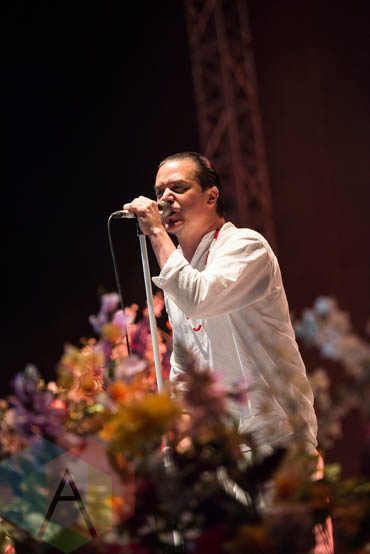Faith No More performing at Riot Fest Chicago in Chicago, IL on Sept. 11, 2015. (Photo: Katie Kuropas/Aesthetic Magazine)