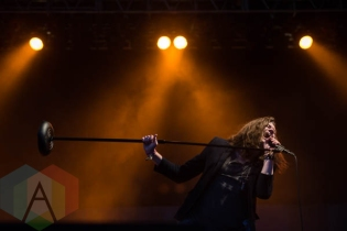 The Academy Is performing at Riot Fest Chicago in Chicago, IL on Sept. 12, 2015. (Photo: Katie Kuropas/Aesthetic Magazine)