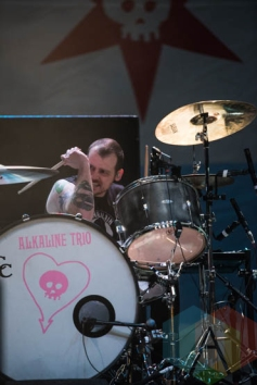 Alkaline Trio performing at Riot Fest Chicago in Chicago, IL on Sept. 11, 2015. (Photo: Katie Kuropas/Aesthetic Magazine)