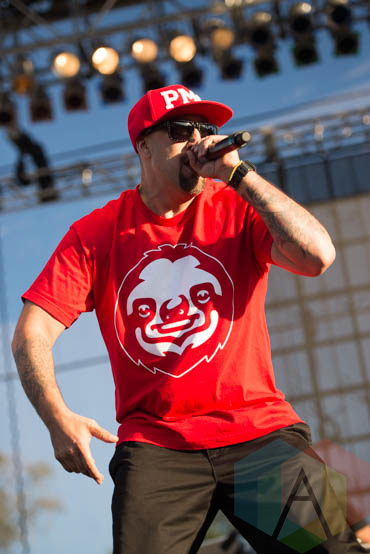 Cypress Hill performing at Riot Fest Chicago in Chicago, IL on Sept. 13, 2015. (Photo: Katie Kuropas/Aesthetic Magazine)