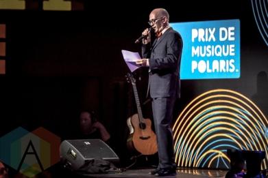 Steve Jordan at the 2015 Polaris Music Prize gala in Toronto, ON on Sept 21, 2015. (Photo: Angelo Marchini/Aesthetic Magazine)