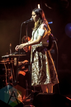Braids performing at the 2015 Polaris Music Prize gala in Toronto, ON on Sept 21, 2015. (Photo: Angelo Marchini/Aesthetic Magazine)