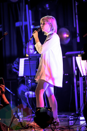 Alvvays performing at the 2015 Polaris Music Prize gala in Toronto, ON on Sept 21, 2015. (Photo: Angelo Marchini/Aesthetic Magazine)