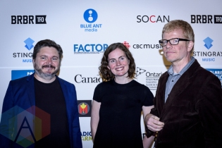 The New Pornographers at the 2015 Polaris Music Prize gala in Toronto, ON on Sept 21, 2015. (Photo: Angelo Marchini/Aesthetic Magazine)