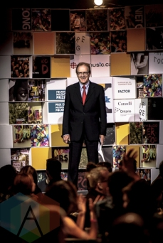 Toronto Councillor Norm Kelly at the 2015 Polaris Music Prize gala in Toronto, ON on Sept 21, 2015. (Photo: Angelo Marchini/Aesthetic Magazine)