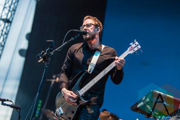 Weezer performing at Riot Fest Toronto 2015 at Downsview Park in Toronto, ON on Sept. 20, 2015. (Photo: Dale Benvenuto/Aesthetic Magazine)