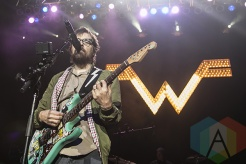 Weezer performing at Chill On The Hill 2015 in Detroit, MI on Sept. 12, 2015. (Photo: Amanda Cain/Aesthetic Magazine)