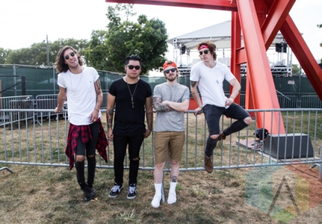 Young Rising Sons at the 2015 Budweiser Made in America Festival at Benjamin Franklin Parkway in Philadelphia, PA. (Photo: Jaime Schultz/Aesthetic Magazine)