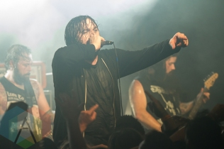 Norma Jean performing at the Texas Revolution Fest in Austin, Texas on October 24, 2015. (Photo: Michael Hurley/Aesthetic Magazine)