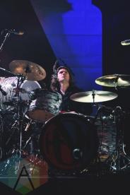 Hanson performing at Irving Plaza in New York City on October 16, 2015. (Photo: Samantha Lichtenstein/Aesthetic Magazine)