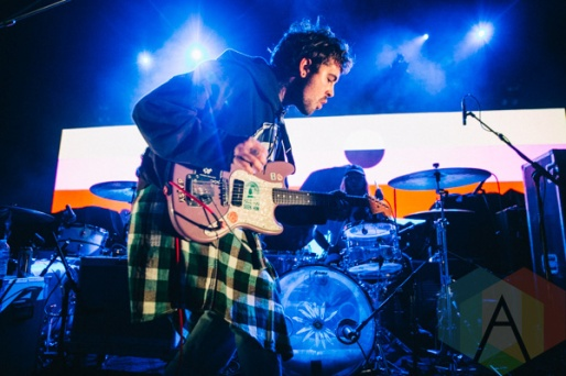 Hunny performing at The Danforth Music Hall in Toronto on October 9, 2015. (Photo: Amy Buck/Aesthetic Magazine)