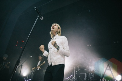 The Neighbourhood performing at The Danforth Music Hall in Toronto on October 9, 2015. (Photo: Amy Buck/Aesthetic Magazine)