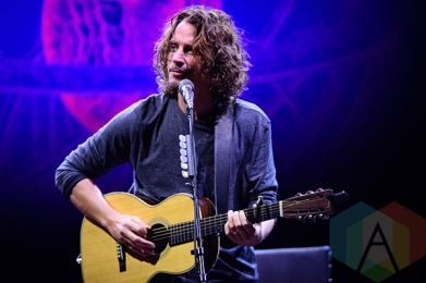 Chris Cornell performing at Massey Hall in Toronto on October 9, 2015. (Photo: Julian Avram/Aesthetic Magazine)