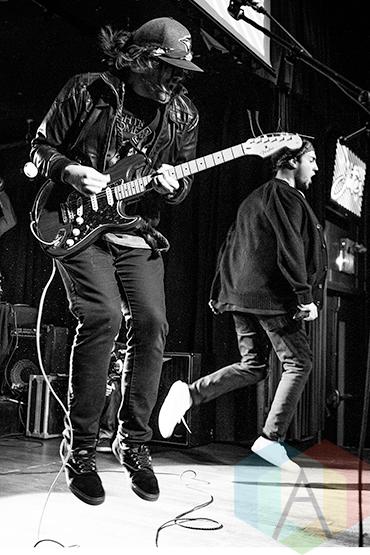 Jutes performing at the 2015 Toronto Independent Music Awards in Toronto on October 23, 2015. (Photo: Francesca Ludikar/Aesthetic Magazine)