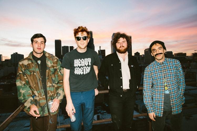 Los Angeles-based skate-punk band FIDLAR.