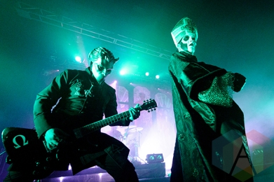 Ghost performing at the Sound Academy in Toronto on Oct. 1, 2015. (Photo: Julian Avram/Aesthetic Magazine)