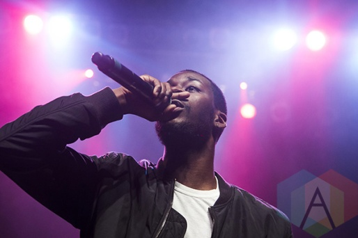 Goldlink performing at The Fillmore in Detroit on October 14, 2015. (Photo: Amanda Cain/Aesthetic Magazine)