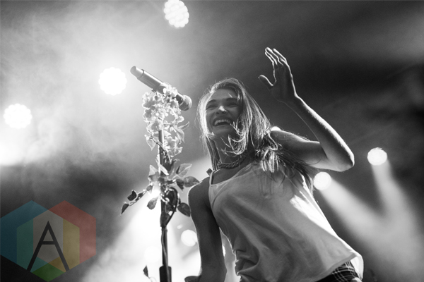 Misterwives performing at First Avenue in Minneapolis on October 27, 2015. (Photo: Eric Osborn/Aesthetic Magazine)
