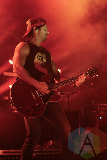 Kip Moore performing at The Danforth Music Hall in Toronto on August 17, 2015. (Photo: Theresa Shim/Aesthetic Magazine)