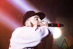 Mac Miller performing at The Fillmore in Detroit on October 14, 2015. (Photo: Amanda Cain/Aesthetic Magazine)