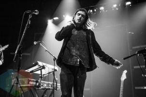 Mansionair performing at The Danforth Music Hall in Toronto on Oct. 4, 2015. (Photo: Alyssa Balistreri/Aesthetic Magazine)