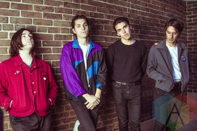 Bad Suns backstage at The Danforth Music Hall in Toronto on October 9, 2015. (Photo: Alyssa Balistreri/Aesthetic Magazine)