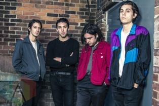 Bad Suns backstage at The Danforth Music Hall in Toronto on October 9, 2015. (Photo: Alyssa Balistreri/Aesthetic Magazine)