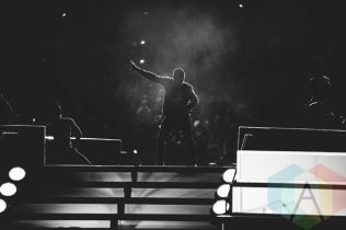Nick Jonas performing at We Day Toronto 2015 at the Air Canada Centre in Toronto on Oct. 1, 2015. (Photo: Brandon Newfield/Aesthetic Magazine)