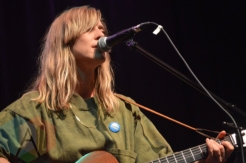 Feist performing at the Imagine Oct 20th concert in Toronto on Sept. 30, 2015. (Photo: Justin Roth/Aesthetic Magazine)