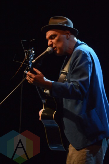 Dave Bidini performing at the Imagine Oct 20th concert in Toronto on Sept. 30, 2015. (Photo: Justin Roth/Aesthetic Magazine)