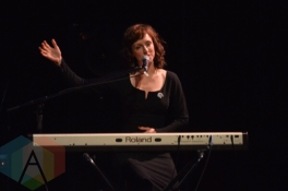Sarah Slean performing at the Imagine Oct 20th concert in Toronto on Sept. 30, 2015. (Photo: Justin Roth/Aesthetic Magazine)