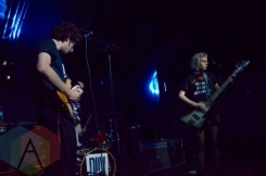 Sunflower Bean performing at The Hoxton in Toronto on October 11, 2015. (Photo: Justin Roth/Aesthetic Magazine)